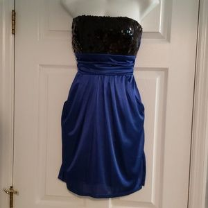 Short homecoming dress with pockets